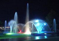 Светодиодная подсветка бассейнов, водоёмов, фонтанов
