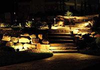 Ландшафтное светодиодное освещение